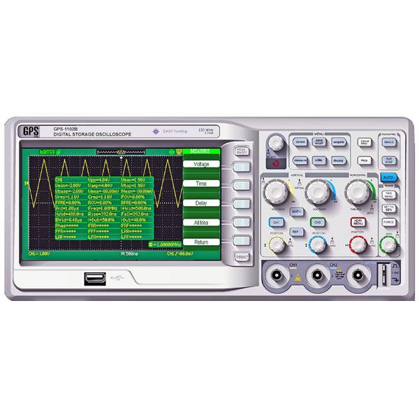 اوسیلوسکوپ دیجیتال مدل GPS-1102B